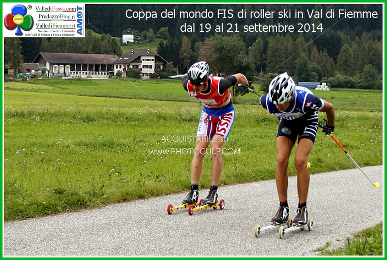 Coppa del mondo FIS di roller ski in Val di Fiemme dal 19 al 21 settembre 2014 Coppa del Mondo FIS Skiroll in Valle di Fiemme. Foto e classifiche