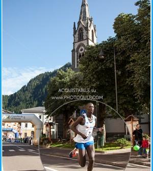 Kiprop Limo vincitore marcialonga running 2014 transito a predazzo