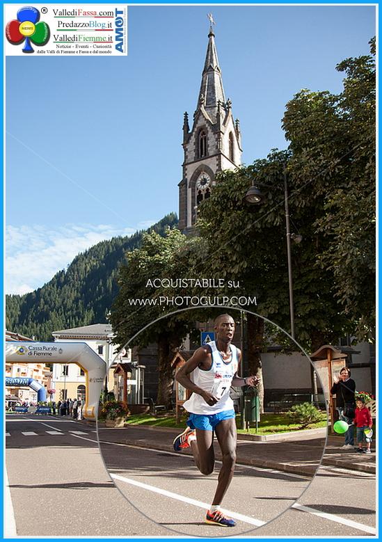 Kiprop Limo vincitore marcialonga running 2014 transito a predazzo Kiprop Limo brucia la Marcialonga Running 2014   Foto e classifiche