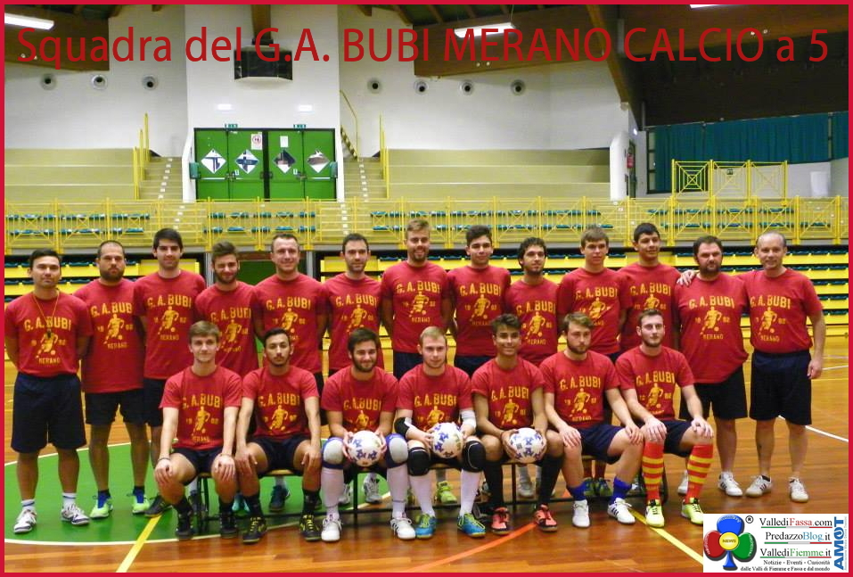 bubi merano Cavalese, concluso il ritiro del Bubi Merano calcio a 5