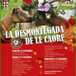 """desmontegada caore cavalese 2014 150x150 Arrivano le """"desmontegade de le caore e de le vache"""". Cavalese e Predazzo in festa con una serie di appuntamenti golosi."""