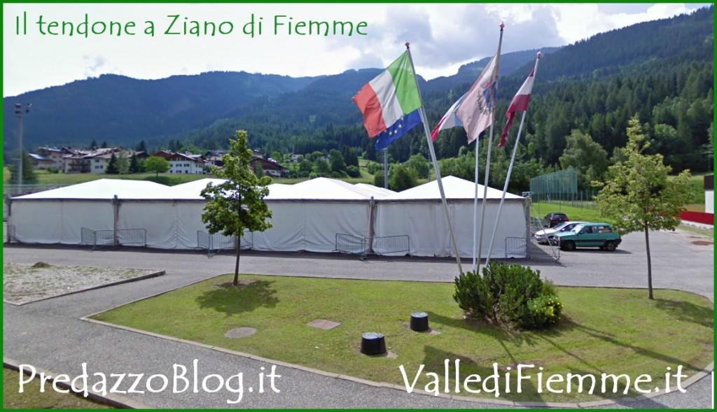tendone feste ziano di fiemme predazzo blog 1024x589 A Ziano la prima festa dei Circoli Pensionati di Fiemme