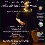 """charte de regola cavalese 150x150 """"AVETE MAI PROVATO A ESSERE DONNE?"""" A teatro per Lifeline Dolomites"""