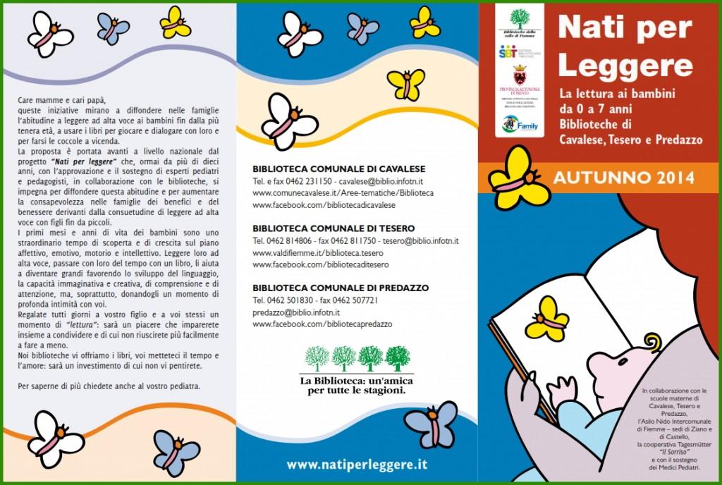 nati per leggere 2014 copertina 1024x688 Nati per Leggere, la lettura ad alta voce ai bambini piccoli