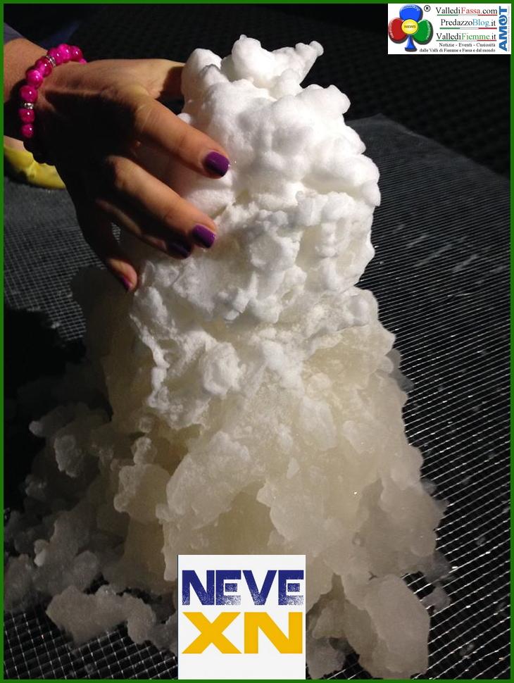 nevexn neve perenne foto NEVEXN NEVE PERENNE linnevamento artificiale con temperature sopra lo zero