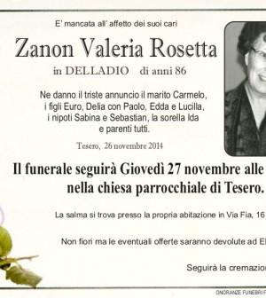 Zanon Valeria Rosetta
