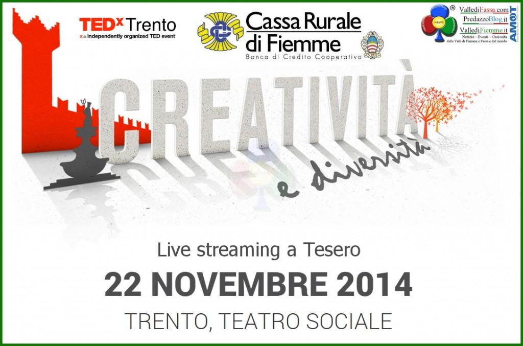 texd trento live streaming1 1024x677 TEDx Trento   live streaming a Tesero