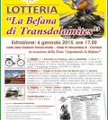 lotteria befana transdolomites fiemme fassa cembra