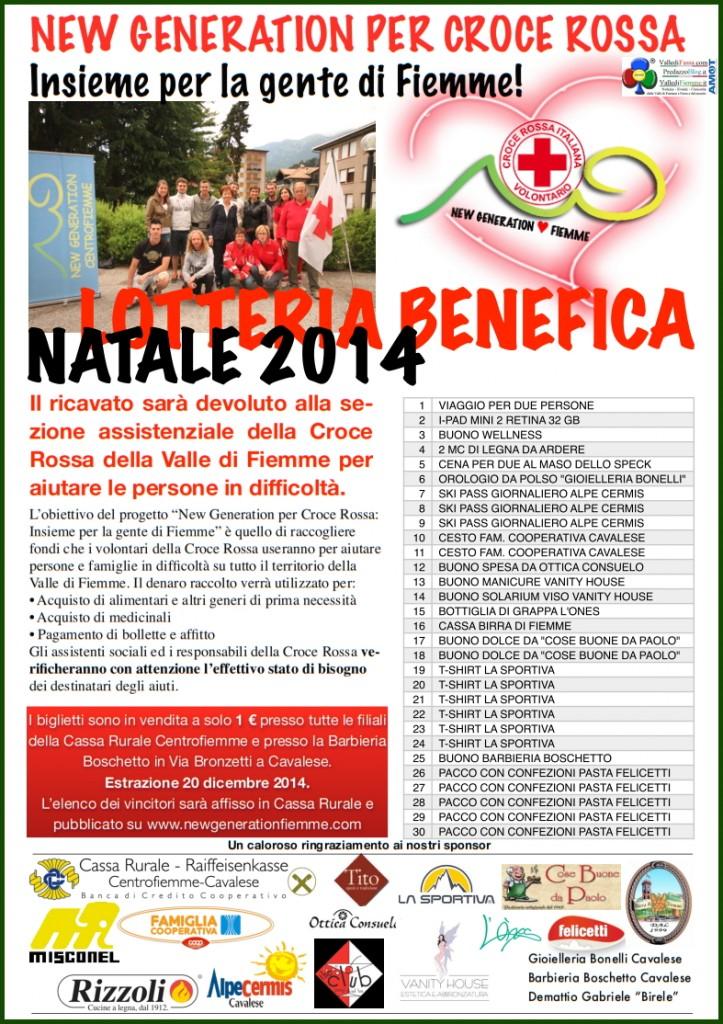 lotteria croce rossa fiemme 723x1024 Lotteria per la Croce Rossa della Valle di Fiemme