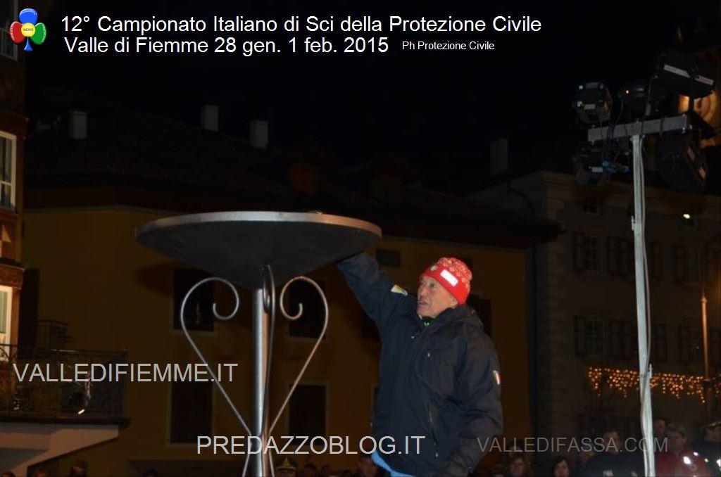 12° Campionato Italiano di Sci della Protezione Civile fiemme21 12° Campionato Sci Protezione Civile Nazionale   Le foto dell apertura