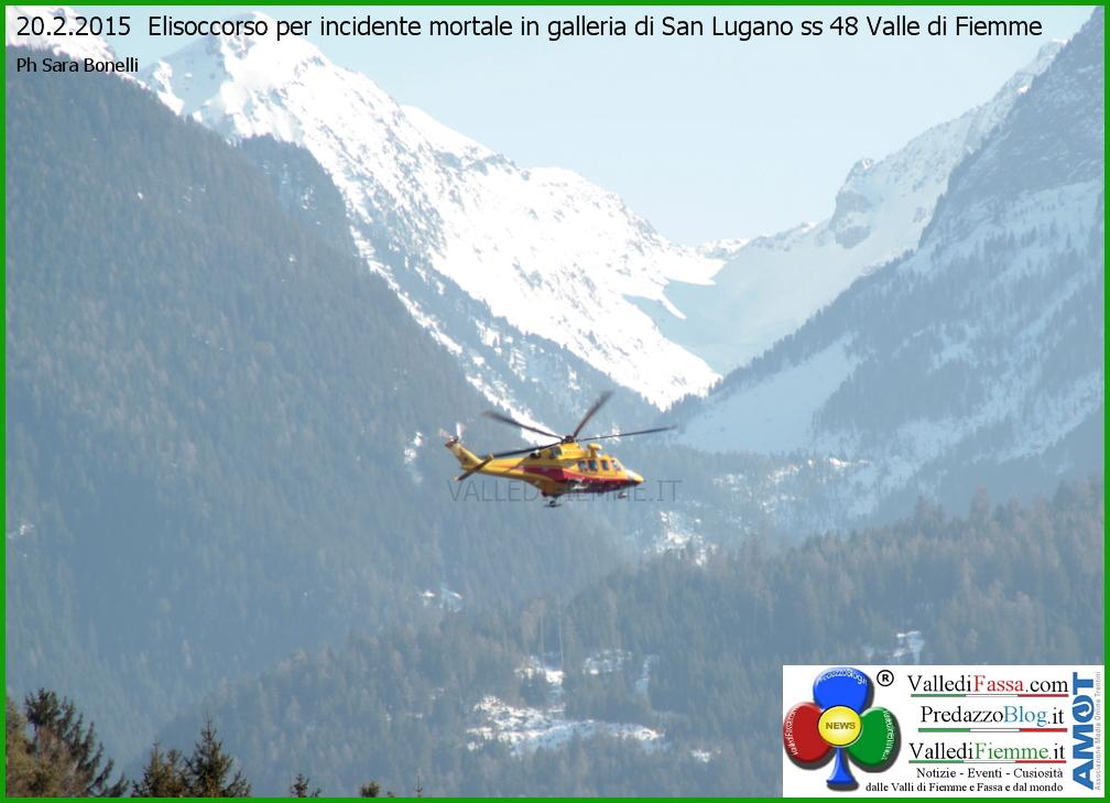 elisoccorso fiemme incidente galleria san lugano Tragico incidente in galleria, muore Luigi Corradino di Egna