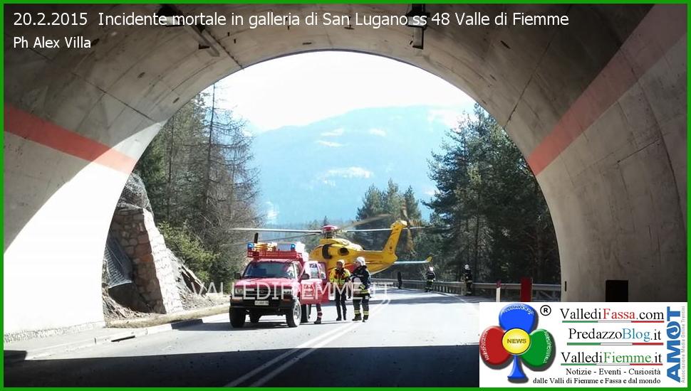 incidente galleria san lugano fiemme Tragico incidente in galleria, muore Luigi Corradino di Egna