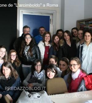 Le studentesse della Rosa Bianca con Milena Gabanelli