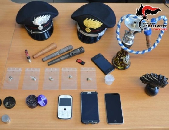carabinieri cavalese antidroga Retata antidroga in Fiemme e Fassa