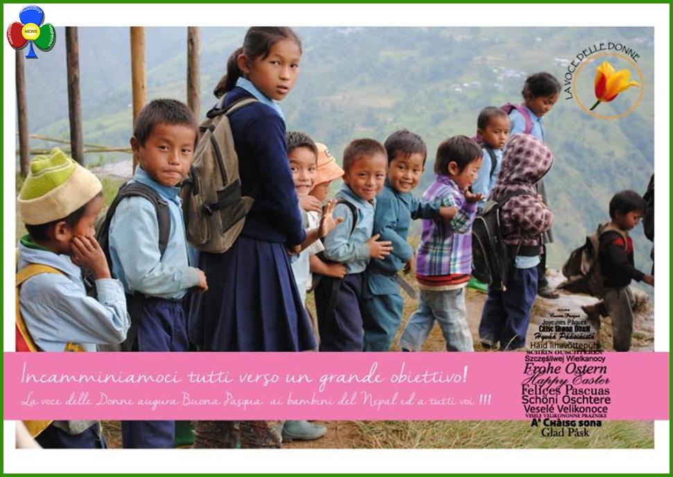 voce delle donne fiemme Tesero, a cena per una scuola in Nepal