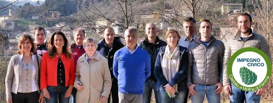 impegno civico molina fiemme lista Castello   Molina, lista Impegno Civico candidato sindaco Lorenzo Wohlgemuth