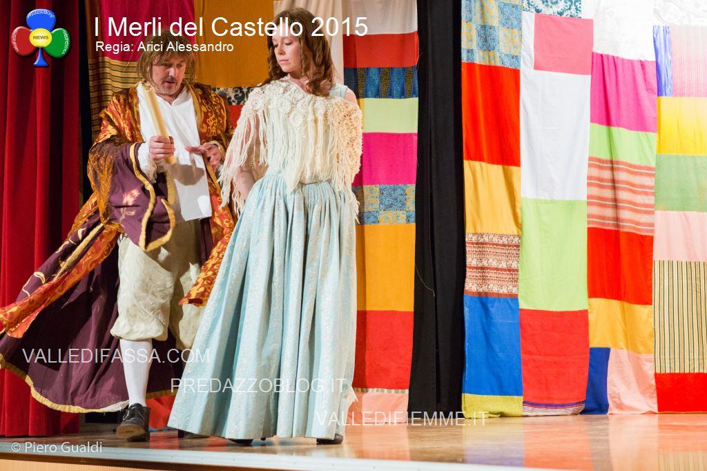 merli del castello 2015 arici alessandro fiemme2 Successo per il Pastrocchio teatrale dei Merli del Castello. Le foto