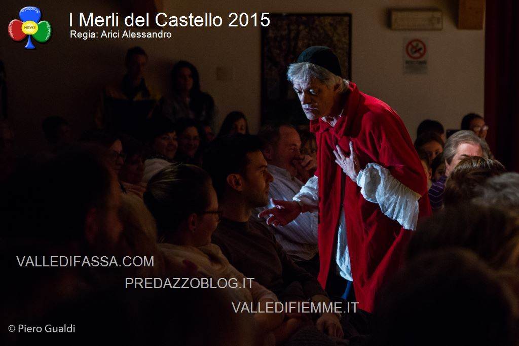 merli del castello 2015 arici alessandro fiemme6 Successo per il Pastrocchio teatrale dei Merli del Castello. Le foto