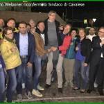 silvano welponer sindaco festeggia il risultato elettorale 150x150 Lista Per Tesero e la sua gente candidata sindaco Elena Ceschini