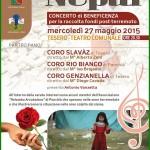 un canto per il nepal 150x150 Tesero, festa di Santa Cecilia con 8 gruppi musicali