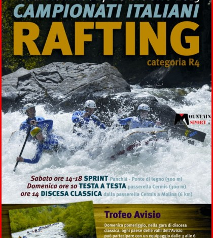 campionati italiani rafting 2015