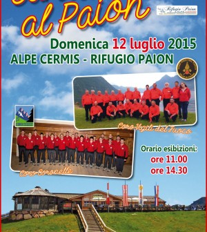 cantare al paion 2015