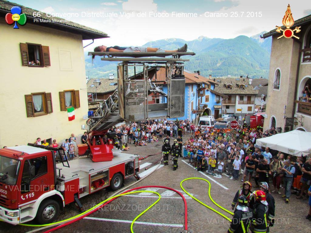 convegno distrettuale vigili del fuoco fiemme 25 luglio 2015 ph mm85 Carano, 66° Convegno Distrettuale dei Vigili del Fuoco Volontari   Le foto