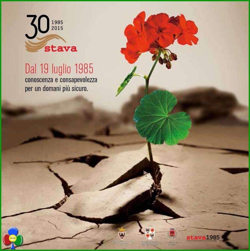 stava 30 anni 30° anniversario della catastrofe di Stava