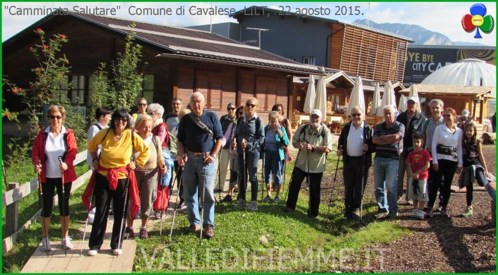 camminata salutare cavalese lilt 1024x567 Cavalese, buona partecipazione alla Camminata Salutare 2015
