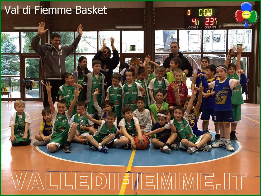 fiemme basket Fiemme Basket: ottimo successo per il progetto giovani 2015
