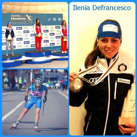 ilenia defrancesco Chiusura Mondiali Skiroll Fiemme 2015 con tripletta russa   Video