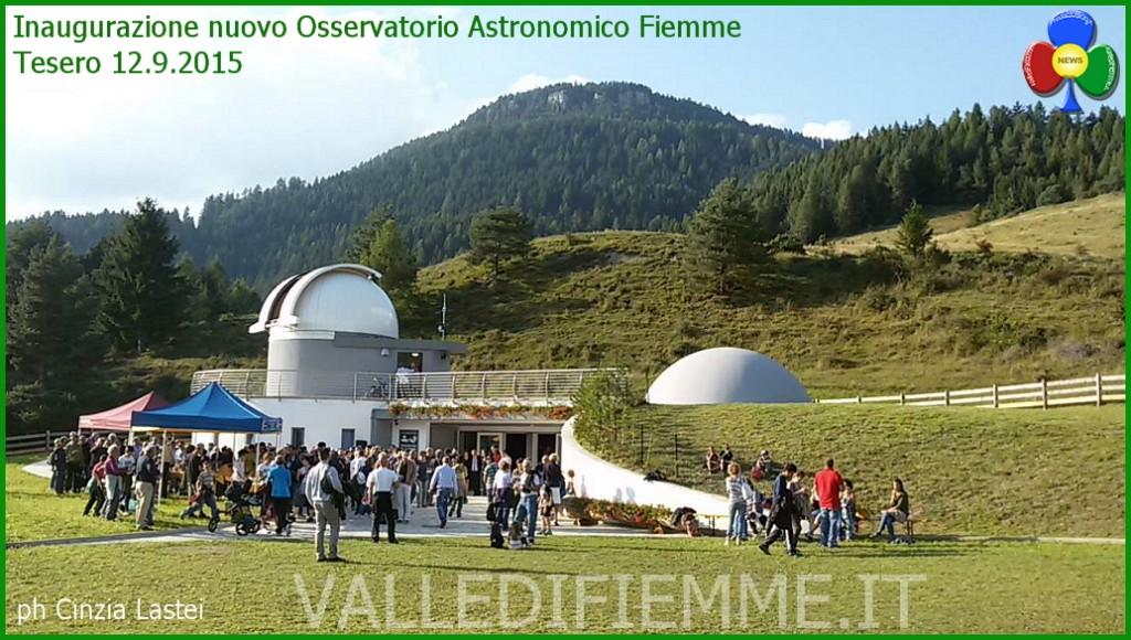 inaugurazione osservatorio astronomico fiemme 1024x580 Inaugurato il nuovo Osservatorio Astronomico Val di Fiemme