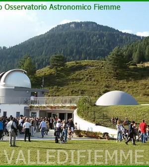 inaugurazione osservatorio astronomico fiemme
