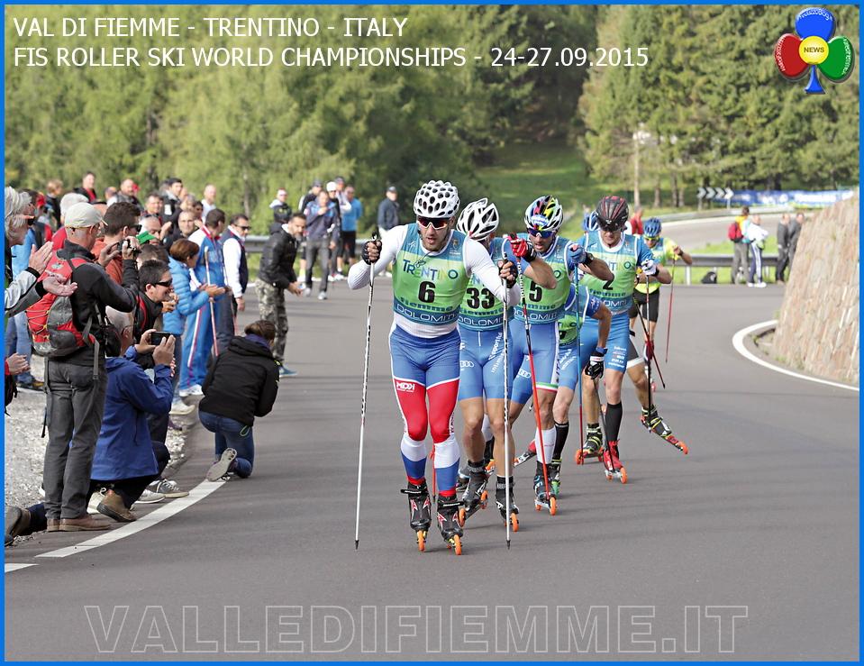mondiali skiroll fiemme 2015 bellamonte Chiusura Mondiali Skiroll Fiemme 2015 con tripletta russa   Video
