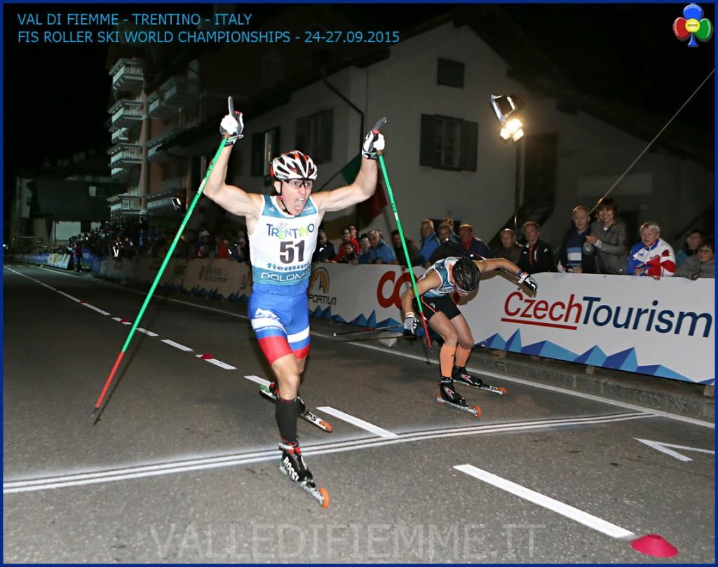 mondiali skiroll fiemme 2015 sprint ziano 1024x809 Mondiali Skiroll, Italia e Russia nella Sprint di Ziano di Fiemme