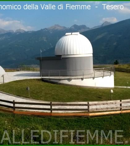 osservatorio astronomico fiemme tesero