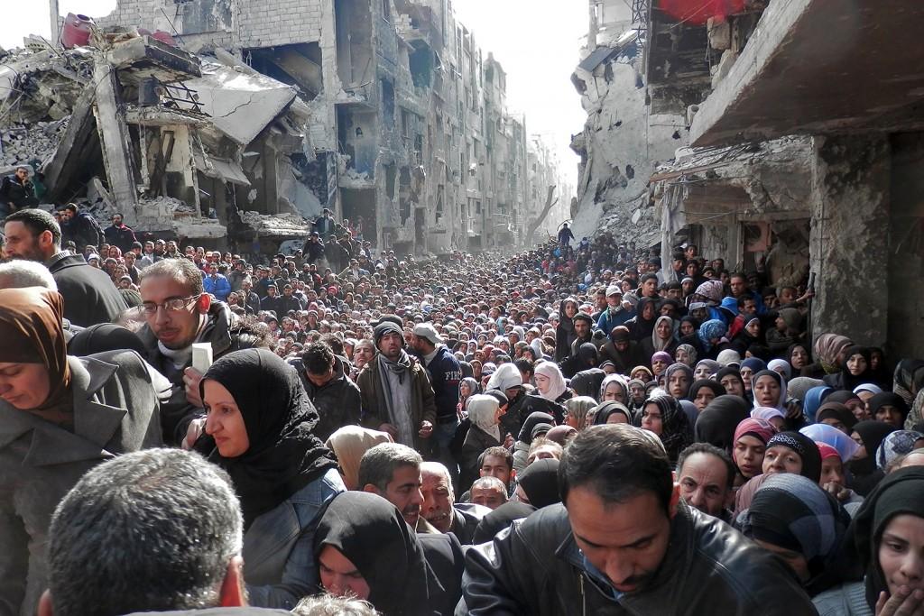 profughi siriani 1024x683 Richiedenti asilo, serata informativa a Castello di Fiemme