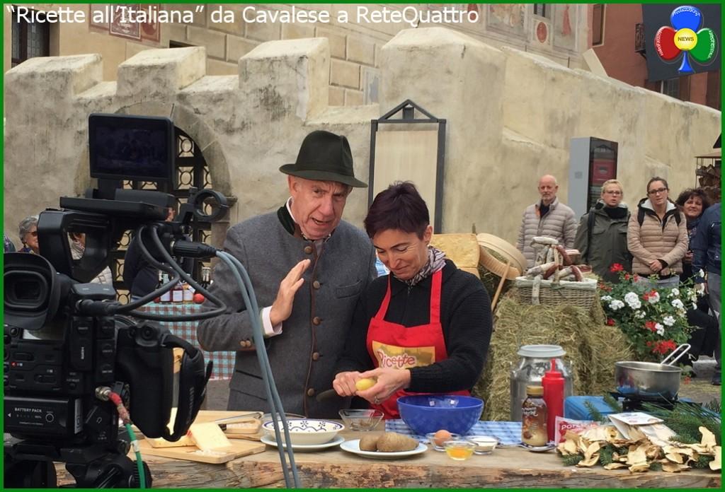 """ricette all italiana 1024x696 """"Ricette all'Italiana"""" in TV da Cavalese a Rete Quattro"""
