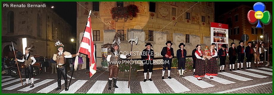 rievocazione storica cavalese fiemme La Guerra Rustica del 1525 rievocazione storica a Cavalese