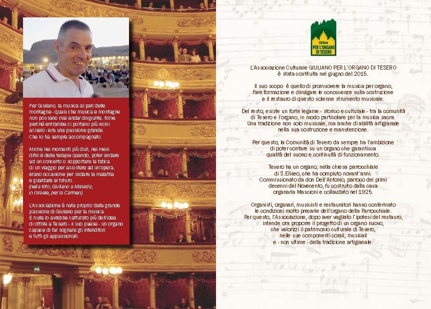 ORGANO pieghevA5 2ante ESA LITO WEB Page 2 Stabat Mater, concerto per lorgano di Tesero