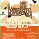 merli del castello 150x150 Corso di Teatro con Alessandro Arici a Castello di Fiemme