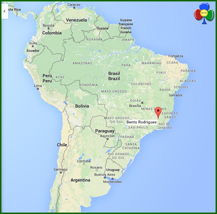 bento rodrigues brazil Diga mineraria crolla in Brasile, Bento Rodrigues come Stava