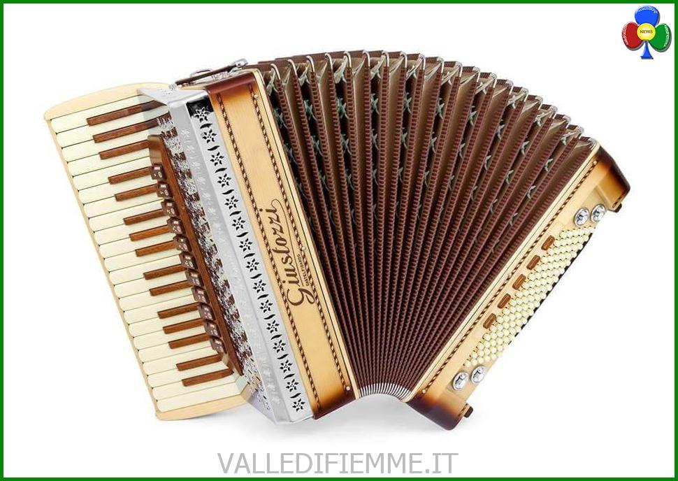 fisarmonica fiemme Nasce la prima fisarmonica con il legno di Stradivari