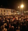 manifestazione cavalese ospedale