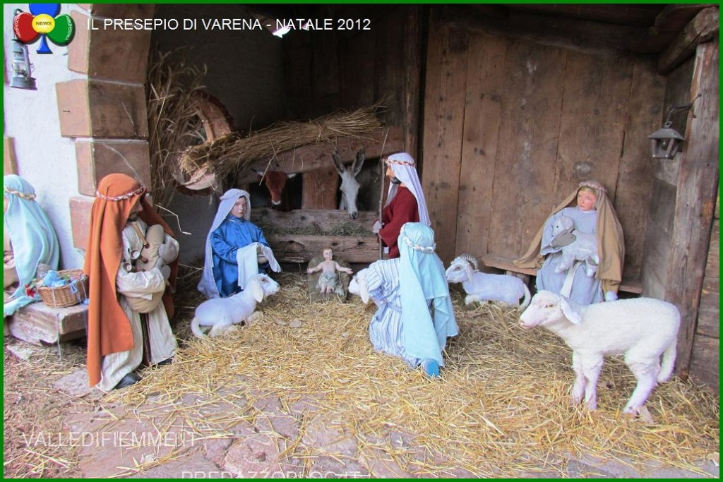 presepio varena 1024x683 I Presepi di Fiemme dalle Dolomiti al Vaticano
