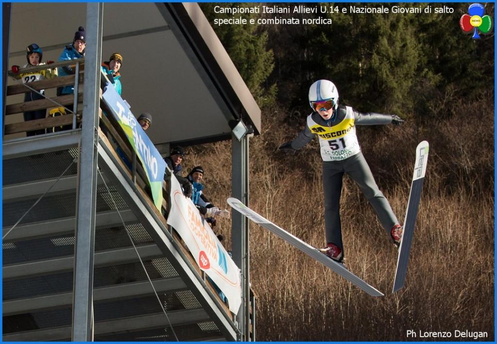 Campionati Italiani Allievi U.14 e Nazionale Giovani di salto speciale e combinata nordica 1024x709 Ski Nordic Festival 2016 le Classifiche della seconda giornata