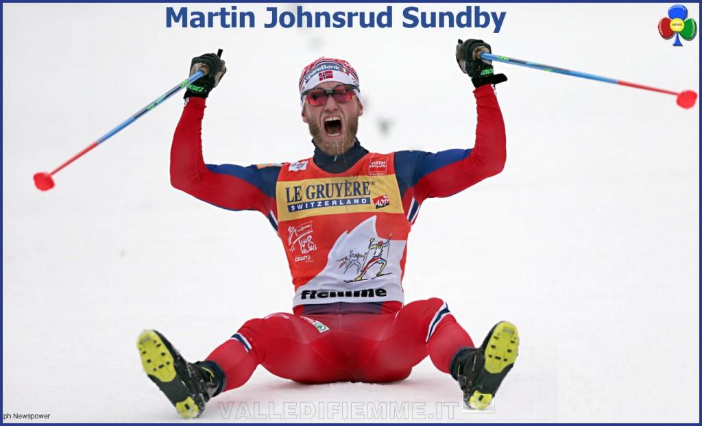 Martin Johnsrud Sundby tour de ski cermis 2016 arrivo 1024x622 Tour de Ski 7 8 gennaio 2017 Val di Fiemme