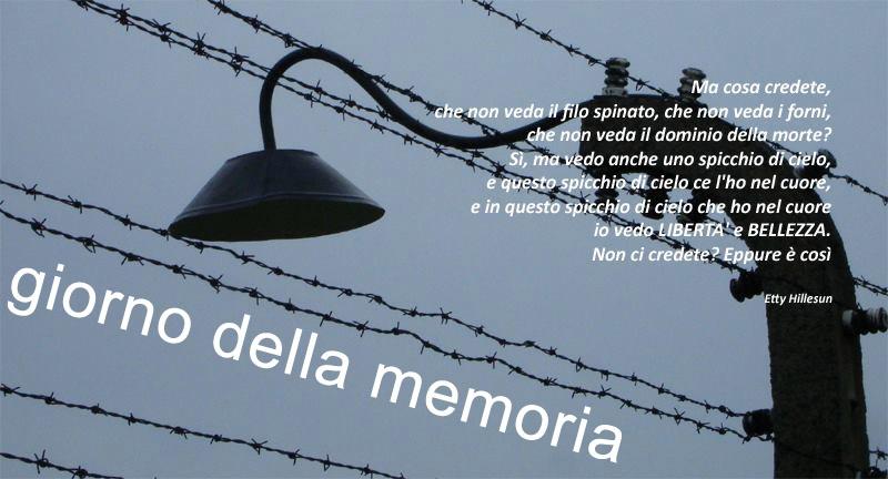 giorno memoria 2016 Giornata della Memoria con il progetto Touch