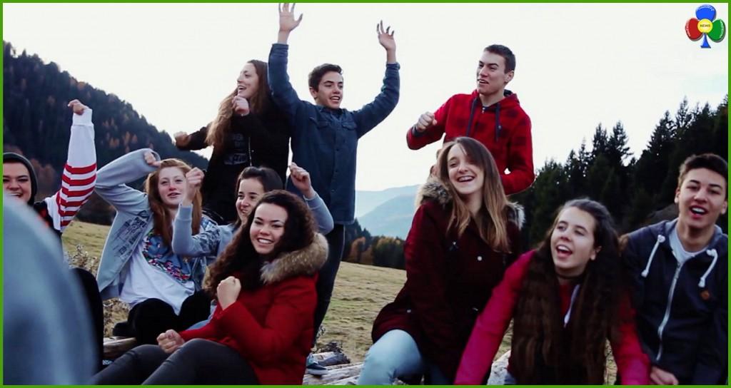 """giovani di masi cavalese 1024x544 La  """"Fortuna di essere qui"""" un video con i Giovani di Masi e Arici"""