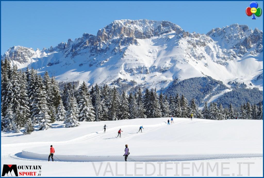 piste fondo fiemme lavazè 1024x692 Fiemme è la miglior località sciistica per lo sci da fondo